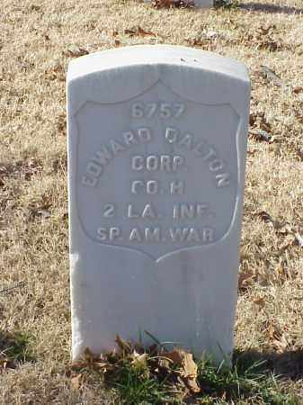 DALTON (VETERAN SAW), EDWARD - Pulaski County, Arkansas | EDWARD DALTON (VETERAN SAW) - Arkansas Gravestone Photos
