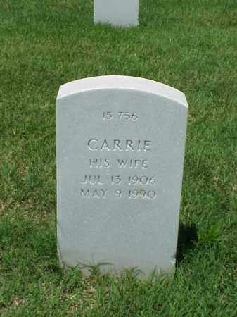DANDRIDGE, CARRIE - Pulaski County, Arkansas | CARRIE DANDRIDGE - Arkansas Gravestone Photos