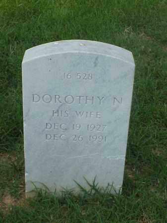 DANIEL, DOROTHY N - Pulaski County, Arkansas | DOROTHY N DANIEL - Arkansas Gravestone Photos