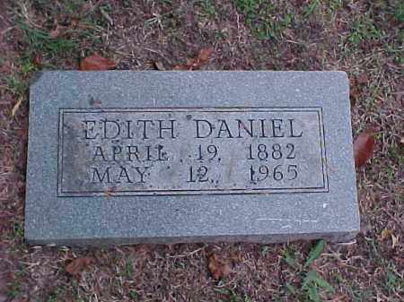 DANIEL, EDITH - Pulaski County, Arkansas | EDITH DANIEL - Arkansas Gravestone Photos