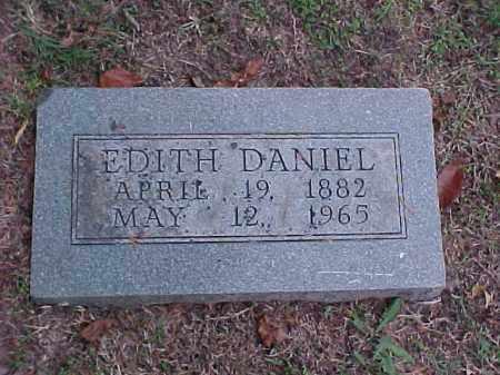 DANIEL, EDITH - Pulaski County, Arkansas | EDITH DANIEL - Arkansas Gravestone Photos