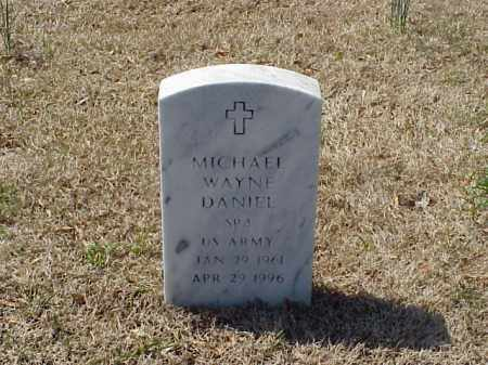 DANIEL (VETERAN ), MICHAEL WAYNE - Pulaski County, Arkansas | MICHAEL WAYNE DANIEL (VETERAN ) - Arkansas Gravestone Photos