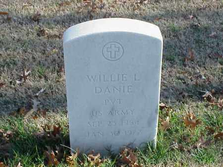 DANIE (VETERAN), WILLIE L - Pulaski County, Arkansas | WILLIE L DANIE (VETERAN) - Arkansas Gravestone Photos