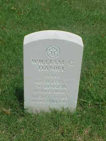 DANIEL (VETERAN WWI), WILLIAM C - Pulaski County, Arkansas | WILLIAM C DANIEL (VETERAN WWI) - Arkansas Gravestone Photos
