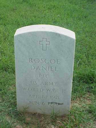 DANIEL (VETERAN WWII), ROSCOE - Pulaski County, Arkansas | ROSCOE DANIEL (VETERAN WWII) - Arkansas Gravestone Photos