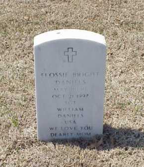 DANIELS, FLOSSIE BRIGHT - Pulaski County, Arkansas | FLOSSIE BRIGHT DANIELS - Arkansas Gravestone Photos