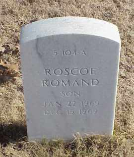 DANIELS, ROSCOE ROMAND - Pulaski County, Arkansas | ROSCOE ROMAND DANIELS - Arkansas Gravestone Photos