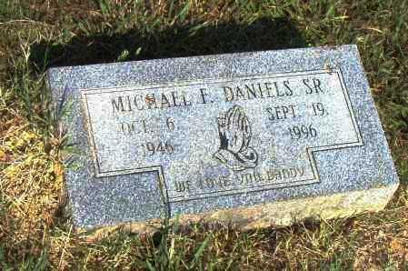 DANIELS, SR., MICHAEL F. - Pulaski County, Arkansas | MICHAEL F. DANIELS, SR. - Arkansas Gravestone Photos