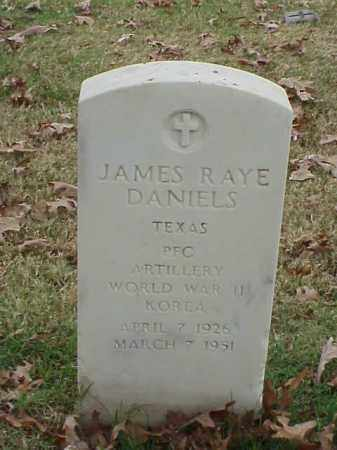 DANIELS (VETERAN 2 WARS), JAMES RAYE - Pulaski County, Arkansas | JAMES RAYE DANIELS (VETERAN 2 WARS) - Arkansas Gravestone Photos