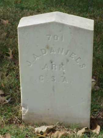 DANIELS (VETERAN CSA), J A - Pulaski County, Arkansas | J A DANIELS (VETERAN CSA) - Arkansas Gravestone Photos
