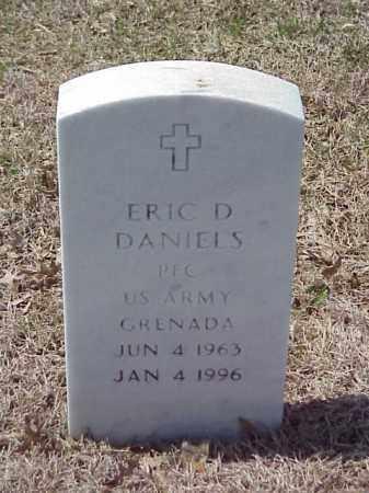 DANIELS (VETERAN), ERIC DEWAYNE - Pulaski County, Arkansas | ERIC DEWAYNE DANIELS (VETERAN) - Arkansas Gravestone Photos