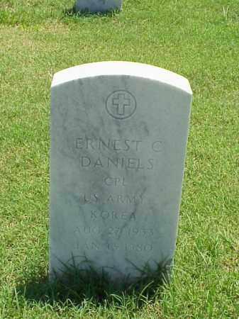 DANIELS (VETERAN KOR), ERNEST C - Pulaski County, Arkansas | ERNEST C DANIELS (VETERAN KOR) - Arkansas Gravestone Photos