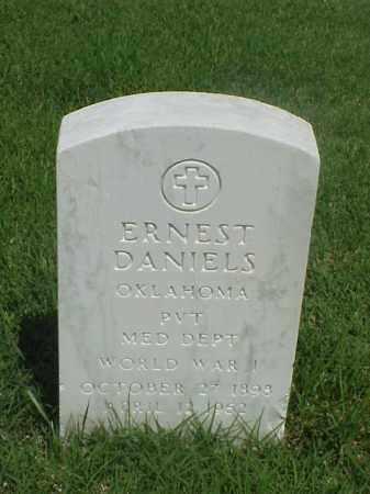 DANIELS (VETERAN WWI), ERNEST - Pulaski County, Arkansas | ERNEST DANIELS (VETERAN WWI) - Arkansas Gravestone Photos