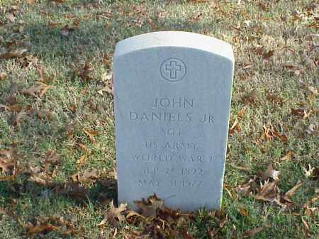 DANIELS, JR (VETERAN WWI), JOHN - Pulaski County, Arkansas | JOHN DANIELS, JR (VETERAN WWI) - Arkansas Gravestone Photos