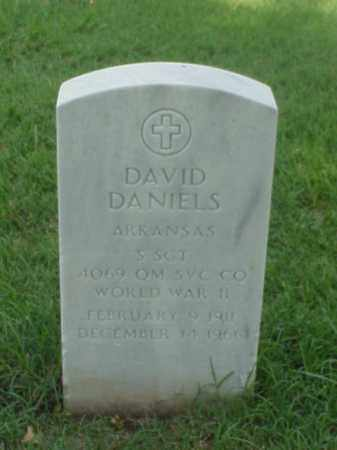 DANIELS (VETERAN WWII), DAVID - Pulaski County, Arkansas | DAVID DANIELS (VETERAN WWII) - Arkansas Gravestone Photos