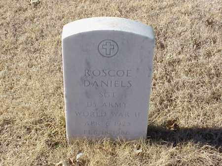 DANIELS (VETERAN WWII), ROSCOE - Pulaski County, Arkansas | ROSCOE DANIELS (VETERAN WWII) - Arkansas Gravestone Photos