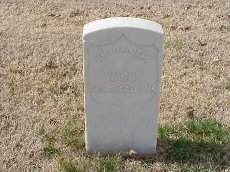 DANIELS (VETERAN UNION), WILLIAM - Pulaski County, Arkansas | WILLIAM DANIELS (VETERAN UNION) - Arkansas Gravestone Photos