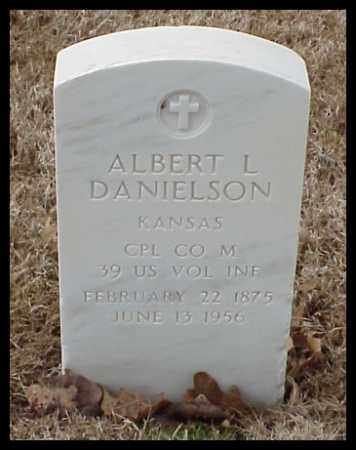 DANIELSON (VETERAN), ALBERT L - Pulaski County, Arkansas | ALBERT L DANIELSON (VETERAN) - Arkansas Gravestone Photos