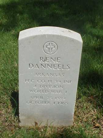DANNEELS (VETERAN WWI), RENE - Pulaski County, Arkansas | RENE DANNEELS (VETERAN WWI) - Arkansas Gravestone Photos