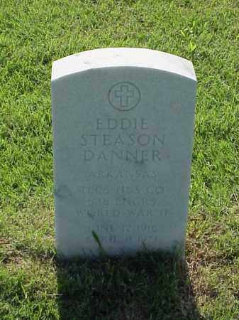 DANNER (VETERAN WWII), EDDIE STEASON - Pulaski County, Arkansas | EDDIE STEASON DANNER (VETERAN WWII) - Arkansas Gravestone Photos