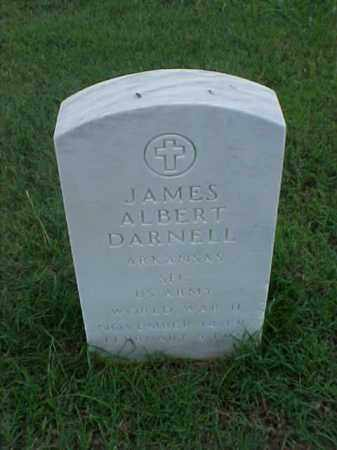 DARNELL (VETERAN WWII), JAMES ALBERT - Pulaski County, Arkansas | JAMES ALBERT DARNELL (VETERAN WWII) - Arkansas Gravestone Photos