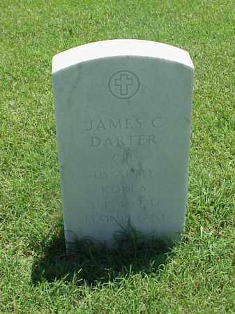 DARTER (VETERAN KOR), JAMES C - Pulaski County, Arkansas | JAMES C DARTER (VETERAN KOR) - Arkansas Gravestone Photos