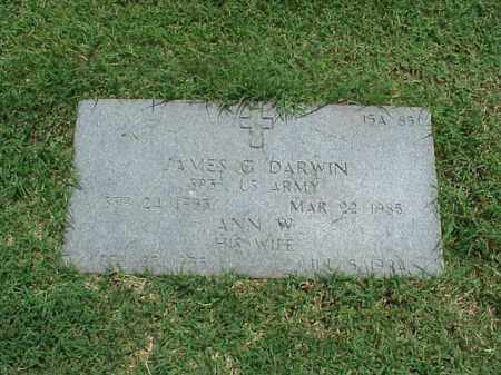 DARWIN, ANN W - Pulaski County, Arkansas | ANN W DARWIN - Arkansas Gravestone Photos