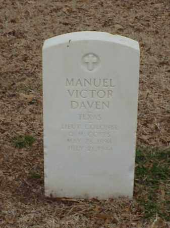DAVEN  (VETERAN WWII), MANUEL VICTOR - Pulaski County, Arkansas | MANUEL VICTOR DAVEN  (VETERAN WWII) - Arkansas Gravestone Photos