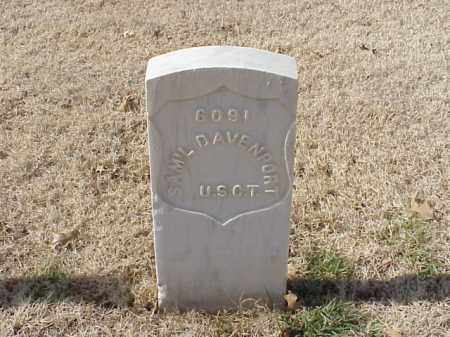 DAVENPORT (VETERAN UNION), SAMUEL - Pulaski County, Arkansas | SAMUEL DAVENPORT (VETERAN UNION) - Arkansas Gravestone Photos