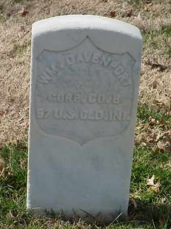 DAVENPORT (VETERAN UNION), WILLIAM - Pulaski County, Arkansas | WILLIAM DAVENPORT (VETERAN UNION) - Arkansas Gravestone Photos