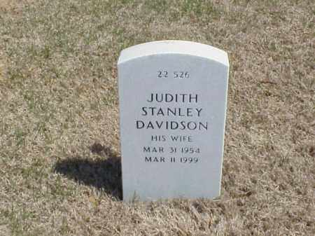 STANLEY DAVIDSON, JUDITH - Pulaski County, Arkansas | JUDITH STANLEY DAVIDSON - Arkansas Gravestone Photos