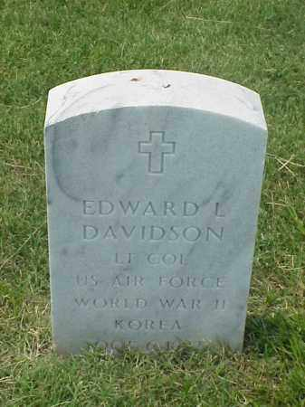 DAVIDSON (VETERAN 2 WARS), EDWARD L - Pulaski County, Arkansas | EDWARD L DAVIDSON (VETERAN 2 WARS) - Arkansas Gravestone Photos
