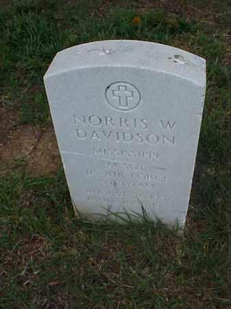DAVIDSON (VETERAN VIET), NORRIS W - Pulaski County, Arkansas | NORRIS W DAVIDSON (VETERAN VIET) - Arkansas Gravestone Photos