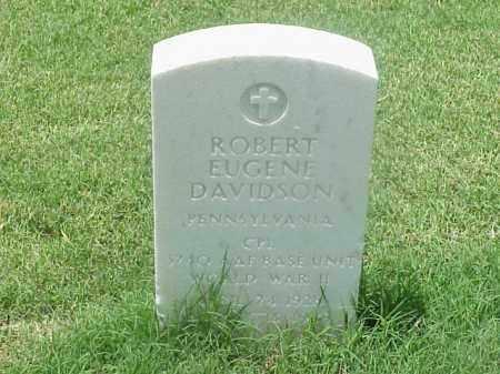 DAVIDSON (VETERAN WWII), ROBERT EUGENE - Pulaski County, Arkansas | ROBERT EUGENE DAVIDSON (VETERAN WWII) - Arkansas Gravestone Photos