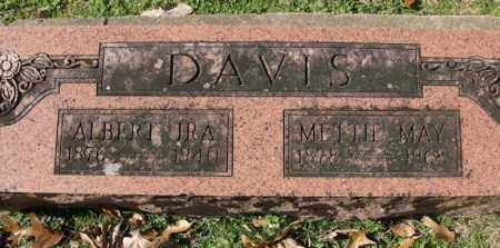 DAVIS, METTIE MAY - Pulaski County, Arkansas | METTIE MAY DAVIS - Arkansas Gravestone Photos