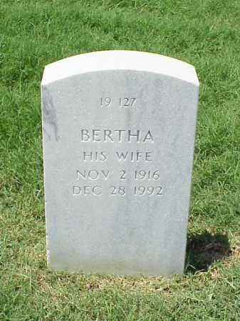 DAVIS, BERTHA - Pulaski County, Arkansas | BERTHA DAVIS - Arkansas Gravestone Photos