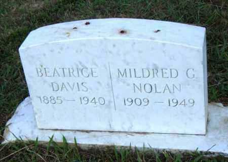 NOLAN, MILDRED C - Pulaski County, Arkansas | MILDRED C NOLAN - Arkansas Gravestone Photos