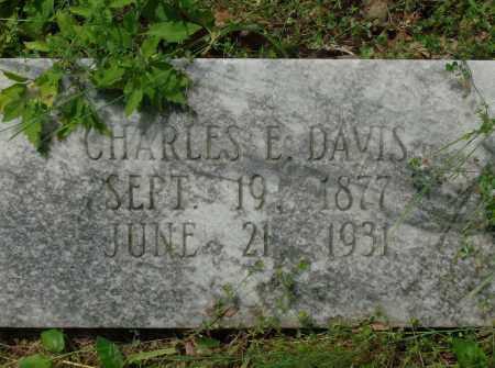 DAVIS, CHARLES E - Pulaski County, Arkansas | CHARLES E DAVIS - Arkansas Gravestone Photos