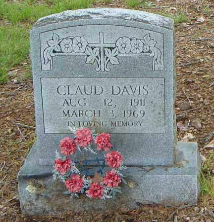 DAVIS, CLAUD - Pulaski County, Arkansas | CLAUD DAVIS - Arkansas Gravestone Photos