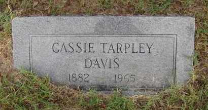 DAVIS, CASSIE DELL - Pulaski County, Arkansas | CASSIE DELL DAVIS - Arkansas Gravestone Photos