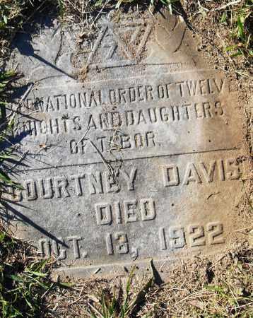 DAVIS, COURTNEY - Pulaski County, Arkansas | COURTNEY DAVIS - Arkansas Gravestone Photos