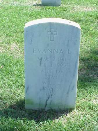 DAVIS, EVANNA L. - Pulaski County, Arkansas | EVANNA L. DAVIS - Arkansas Gravestone Photos
