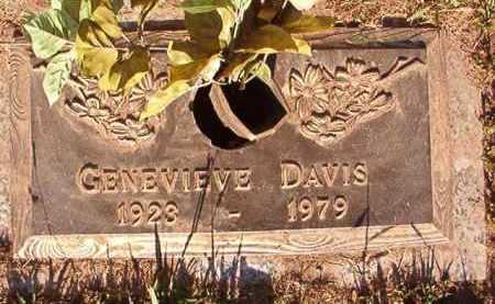 DAVIS, GENEVIEVE - Pulaski County, Arkansas | GENEVIEVE DAVIS - Arkansas Gravestone Photos