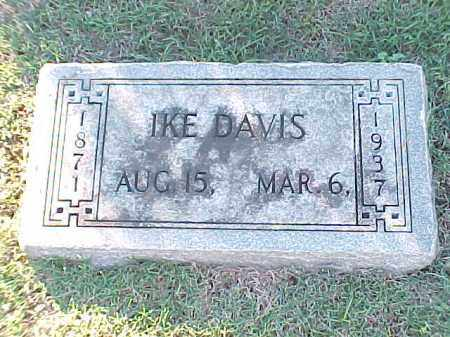 DAVIS, IKE - Pulaski County, Arkansas | IKE DAVIS - Arkansas Gravestone Photos