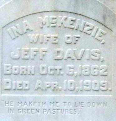 DAVIS, INA (CLOSEUP) - Pulaski County, Arkansas | INA (CLOSEUP) DAVIS - Arkansas Gravestone Photos