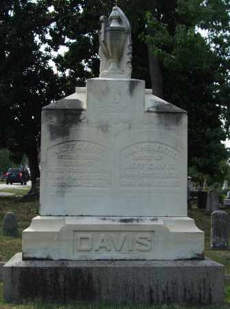 DAVIS, JEFF - Pulaski County, Arkansas | JEFF DAVIS - Arkansas Gravestone Photos