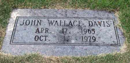 DAVIS, JOHN WALLACE - Pulaski County, Arkansas | JOHN WALLACE DAVIS - Arkansas Gravestone Photos