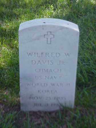 DAVIS, JR (VETERAN 2 WARS), WILFRED W - Pulaski County, Arkansas | WILFRED W DAVIS, JR (VETERAN 2 WARS) - Arkansas Gravestone Photos
