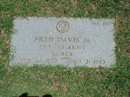 DAVIS, JR (VETERAN KOR), FRED - Pulaski County, Arkansas | FRED DAVIS, JR (VETERAN KOR) - Arkansas Gravestone Photos