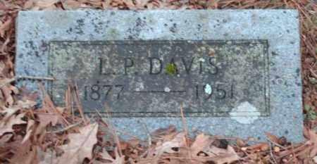 DAVIS, L.P. - Pulaski County, Arkansas | L.P. DAVIS - Arkansas Gravestone Photos